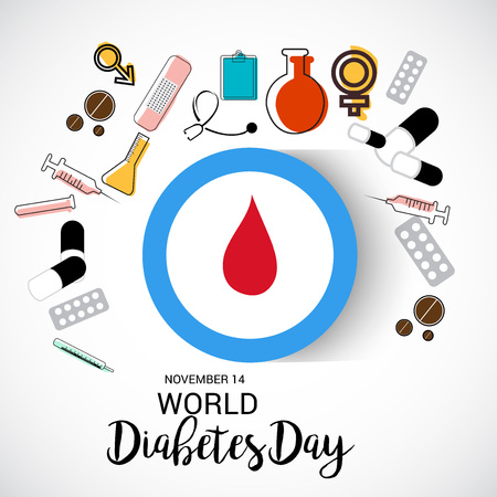 World Diabetes Day poster design