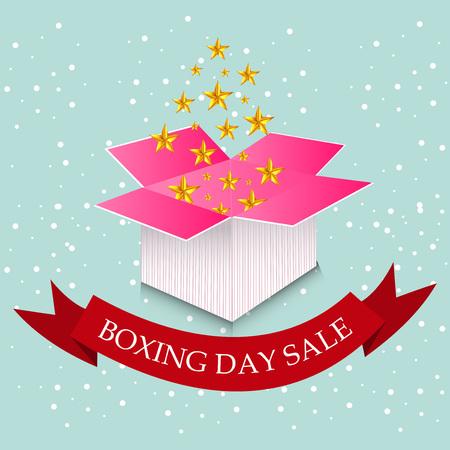 Boxing Day Sale Design.