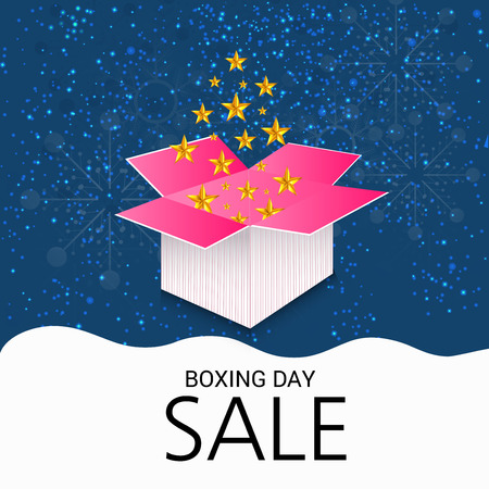 Boxing Day Sale Design.