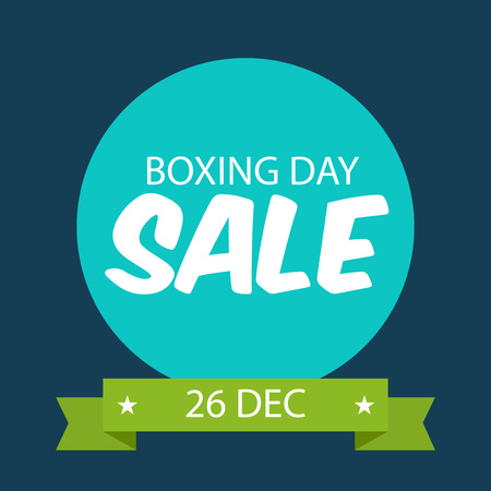 Boxing Day Sale.