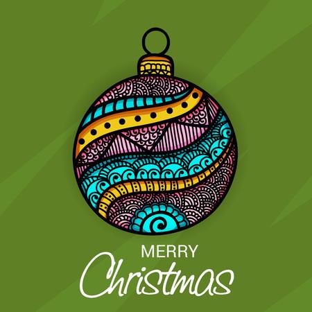 Merry Christmas. Illustration