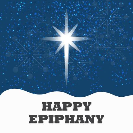Happy Epiphany. Ilustracja