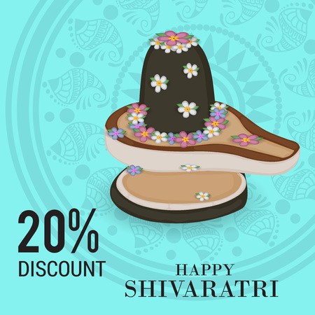 Happy Shivratri . Illustration