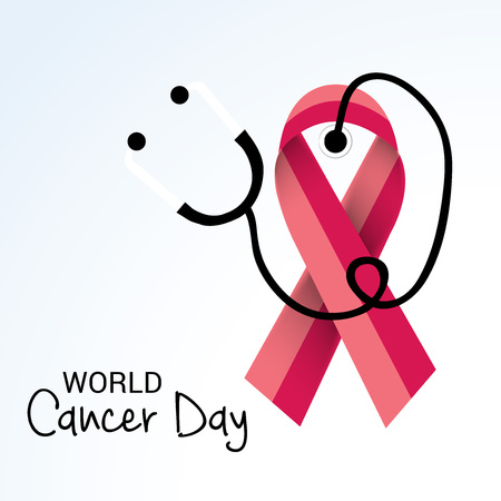 World Cancer Day. Illustration