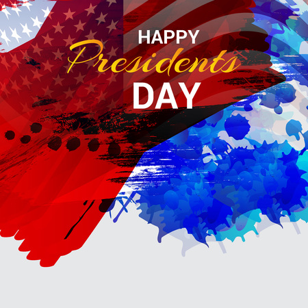 Happy Presidents Day. Stock Vector - 94216493