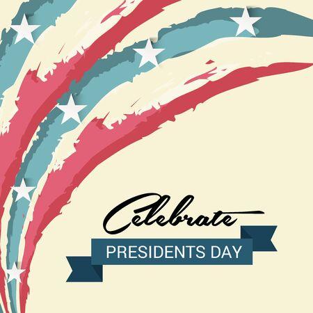 Happy Presidents Day. Stock Vector - 94216557