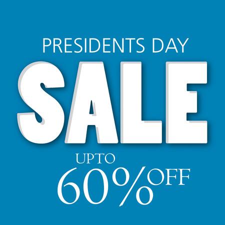 Happy Presidents Day sale. Stock Vector - 94216854