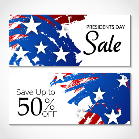Happy Presidents Day sale up to 50% with stars