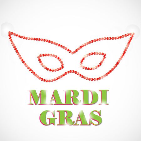 Mardi Gras design template Stock Vector - 94351898