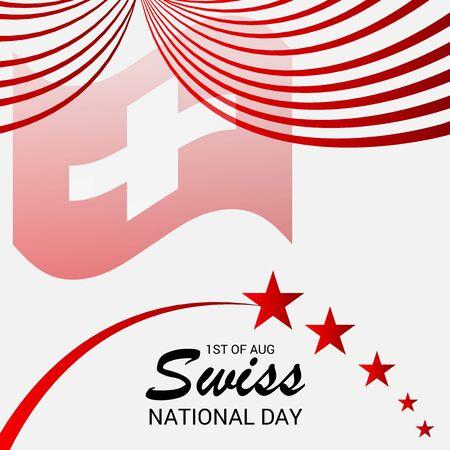 Schweizer Nationalfeiertag Standard-Bild - 94543823