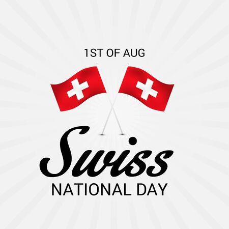 Día Nacional de Suiza. Foto de archivo - 94602460