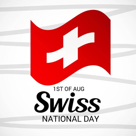 Schweizer Nationalfeiertag Standard-Bild - 94602462
