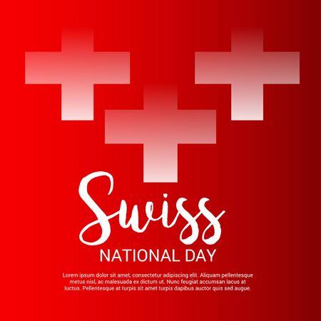 Schweizer Nationalfeiertag Standard-Bild - 94602509