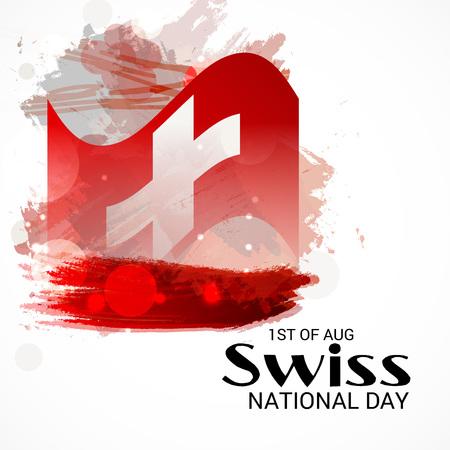 Schweizer Nationalfeiertag Standard-Bild - 94602521