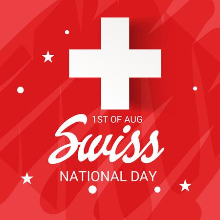 Fête nationale suisse Banque d'images - 94660745