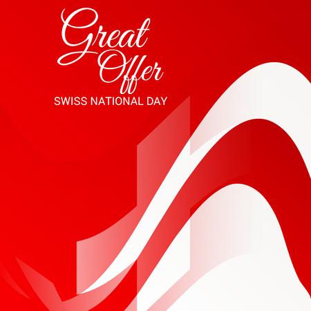 Schweizer Nationalfeiertag Standard-Bild - 94602535