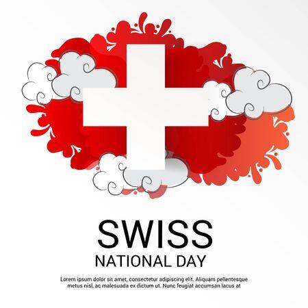 Schweizer Nationalfeiertag Standard-Bild - 94602536
