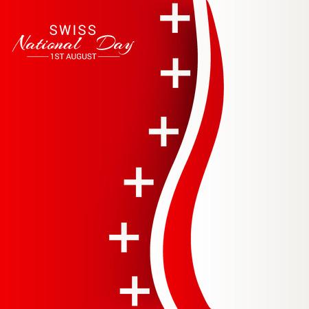 Fête nationale suisse Banque d'images - 94660753