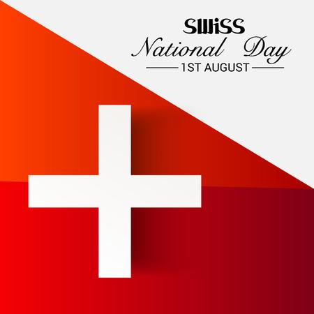 Fête nationale suisse Banque d'images - 94660754