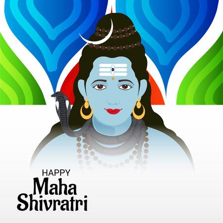 Happy Maha Shivratri. Stock Vector - 94763290