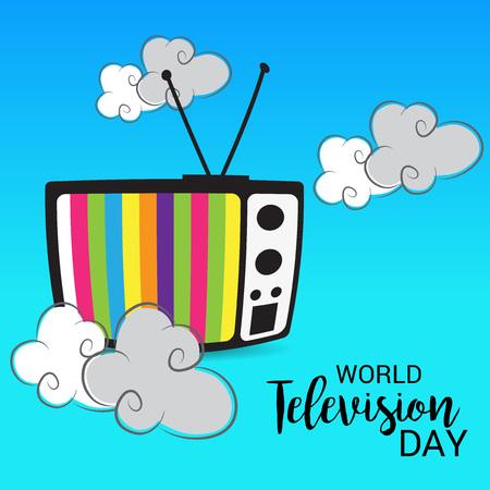 World Television day. Illustration