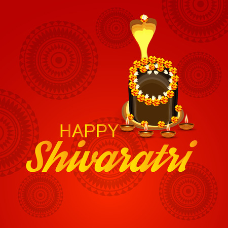 Happy Shivratri. hindu festival celebration decoration, culture