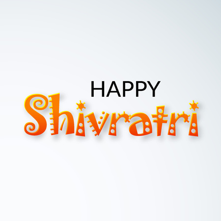 Happy Shivratri illustration