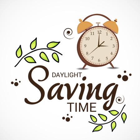 Daylight Saving. 일러스트