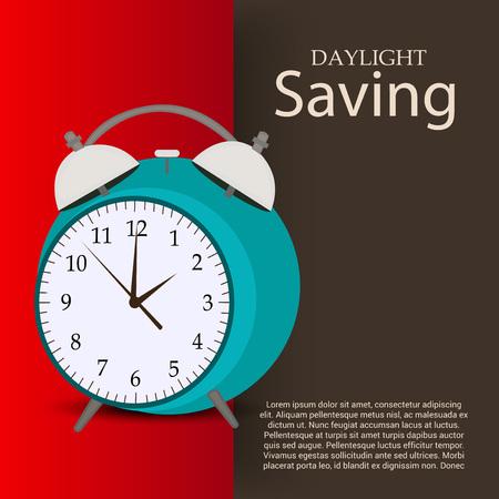 Daylight Saving. Ilustração