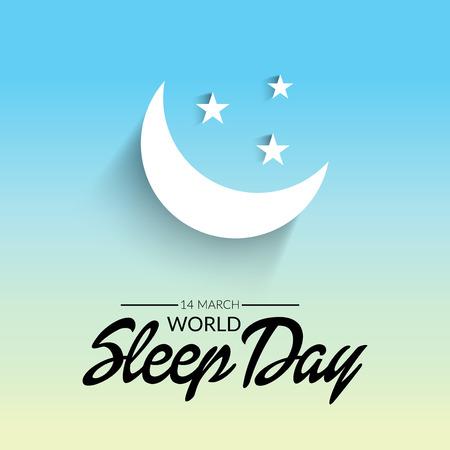 World Sleep Day. Vectores