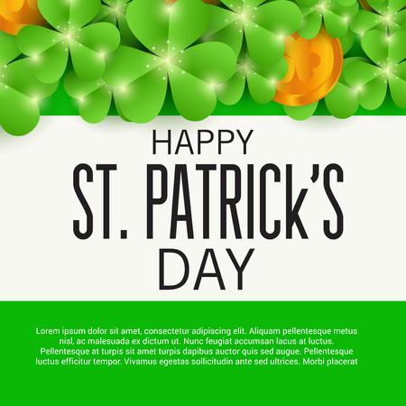 St. Patrick's Day. Banco de Imagens - 95897533