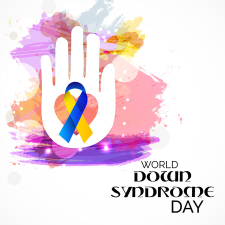 World Down Syndrome Day creative concept design