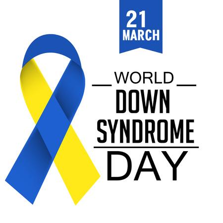 World Down Syndrome Day creative concept design