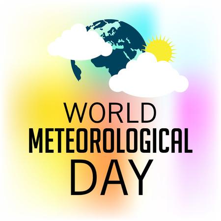 Día mundial de la meteorología.