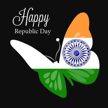 Happy Republic Day, celebration democratic freedom country