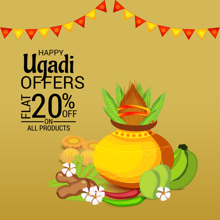 Happy Ugadi 20% off