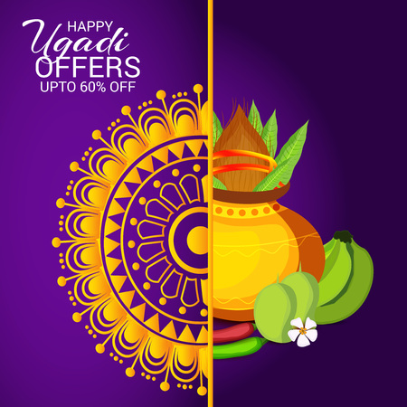 Happy Ugadi offers 60% off