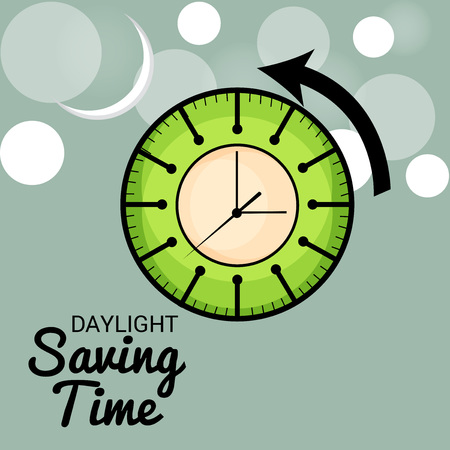 Daylight Saving Time Concept Illustration. Banque d'images - 96970456