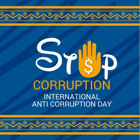 International Anti Corruption Day.