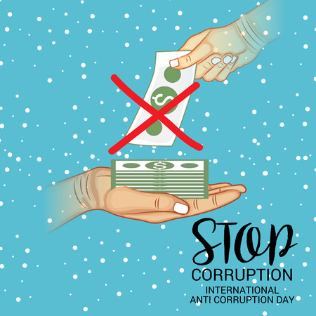 International Anti Corruption Day. Ilustrace