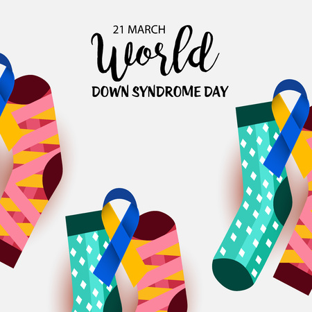 World Down Syndrome Day, awareness campaign poster