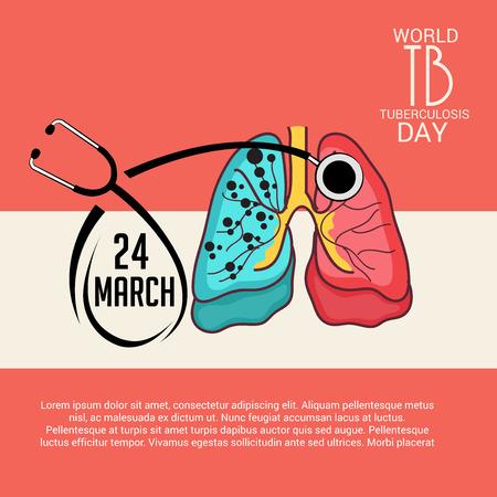 Welttag der Tuberkulose. Standard-Bild - 97591156