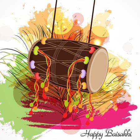 Happy Baisakhi. Ilustração