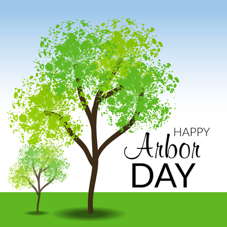 Arbor Day icon illustration Stok Fotoğraf - 98759704