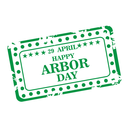 Arbor Day icon illustration