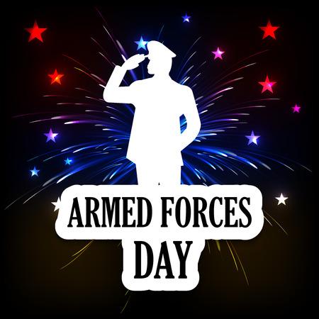 Armed Forces Day vector illustration design