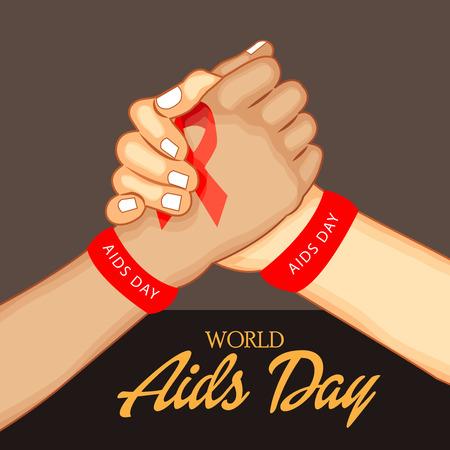 World Aids Day vector illustration design