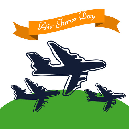 The Indian Air Force Day.