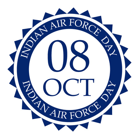 Indian Air Force Day vector illustration design 일러스트