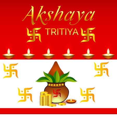 Akshaya Tritiya. Illustration